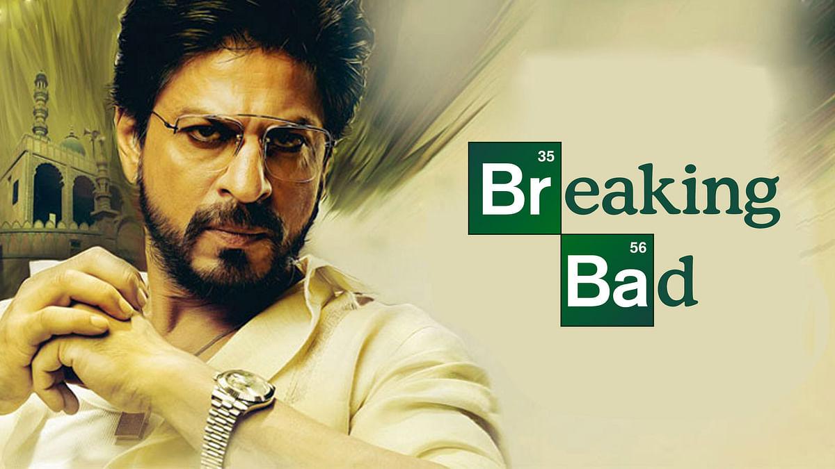 Shah Rukh Khan wants to make a desi <i>Breaking Bad </i>(Artwork: Aaqib Raza Khan)