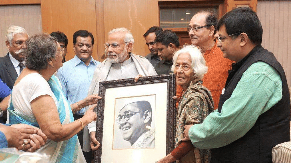 PMO Hands Over First Batch of Netaji Files For Declassification