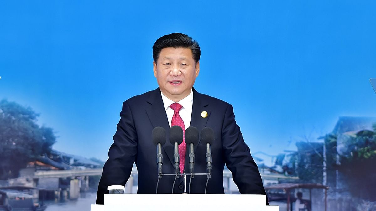 """Xi said China's central government """"fully endorsed"""" the work being carried out  in Hong Kong. (Photo: AP)"""