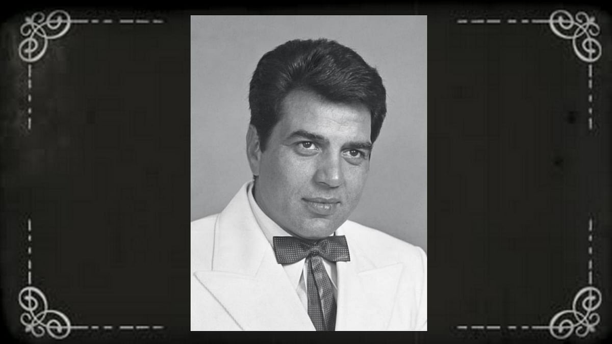 It's a pity that Hindi cinema didn't know how to deal with a fine looking creature like Dharmendra. (Photo courtesy: Twitter)