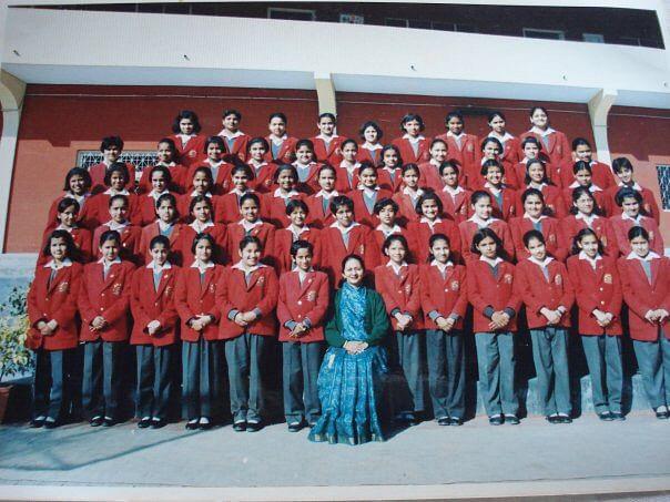 My class choir in sixth standard. (Photo Courtesy: Garvita Khybri)