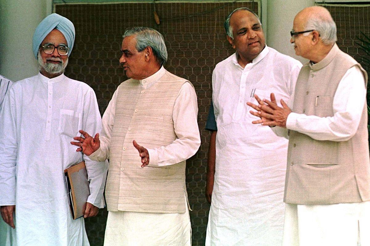 Vajpayee compared Manmohan Singh to Bhishma Pitamah in Rajya Sabha.