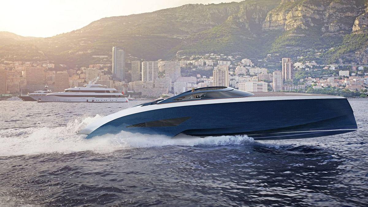 "The PJ63 Niniette combines style elements of Bugatti's cars and Palmer Johnson's SuperSport Yacht Series. (Photo: Facebook/<a href=""https://www.facebook.com/bugatti/"">Bugatti</a>)"