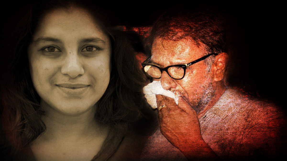 "Hema Upadhyay's cousin says the family is sure her ex-husband Chintan is behind the murder. (The photo has been altered by <b>The Quint/</b><a href=""http://www.annemaniglier.com/index.php?/photographs/portrait/"">Hema's photo by Anne Maniglier</a>)"