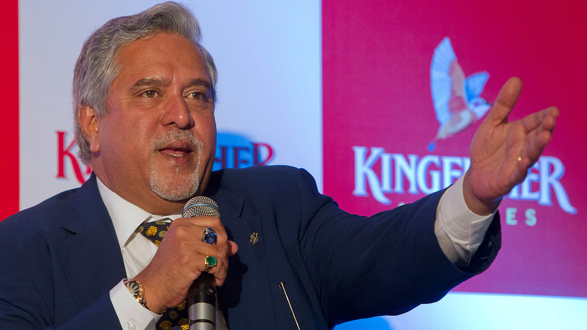 Vijay Mallya, chairman of the UB Group. (Photo: Reuters)