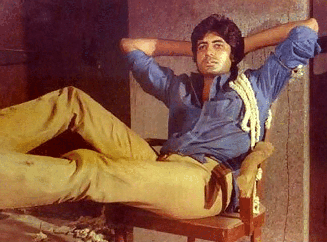 Amitabh Bachchan as Inspector Vijay catapulted people's imaginations to a whole new level.