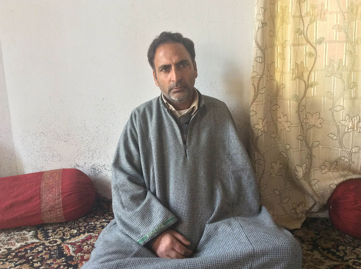 Nazir Ahmad Dar, Gowhar's father, says the accused CRPF camp must be shifted from their locality in Srinagar. (Photo: Jehangir Ali)