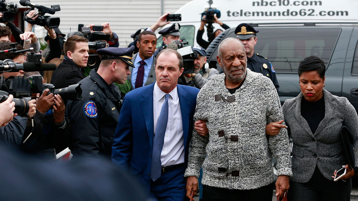 Actor and comedian Bill Cosby.