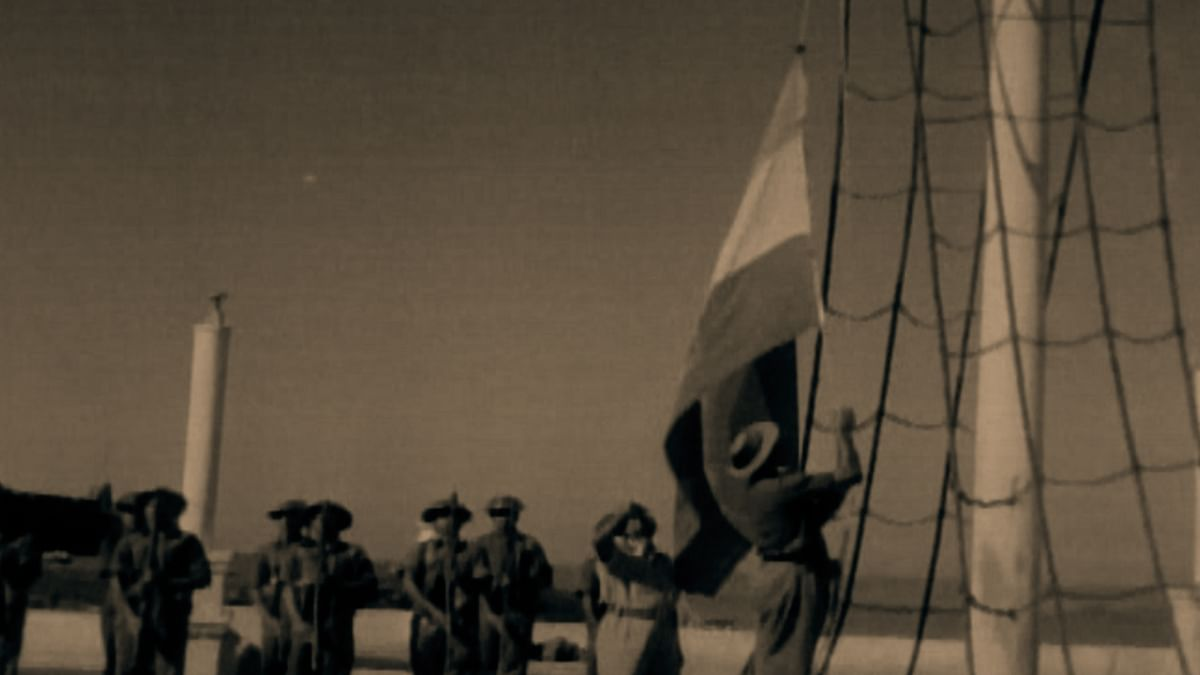 Indian Army unfurling the national flag in Goa on 19, December 1961 after the success of Operation Vijay. (Photo: The Quint)