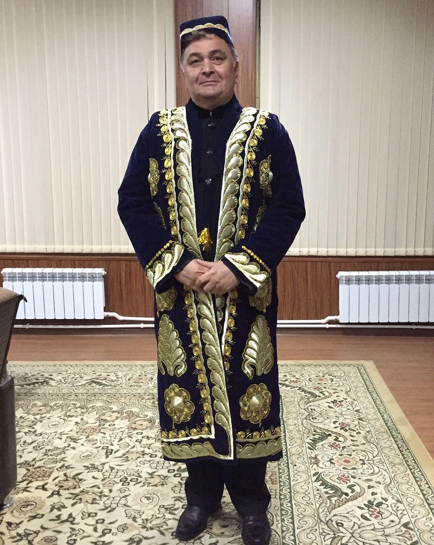 Rishik Kapoor in Tashkent
