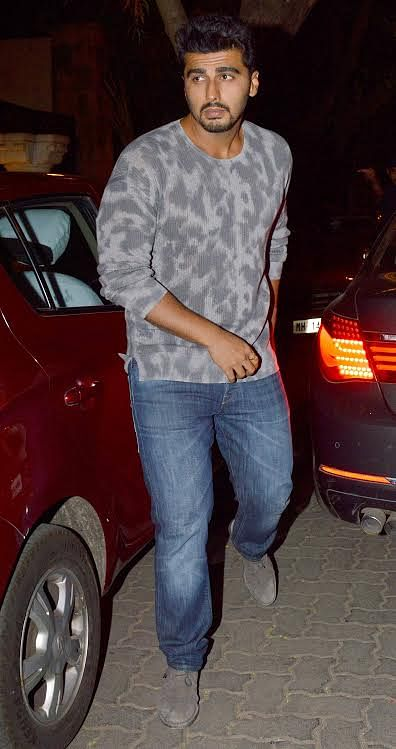 Arjun Kapoor arrives at the party (Photo: Yogen Shah)