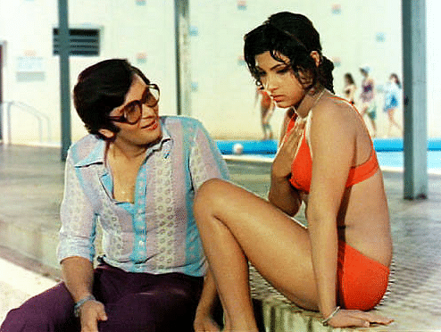 Dimple Kapadia in the orange bikini was one of the biggest commercial takeaways for the film.
