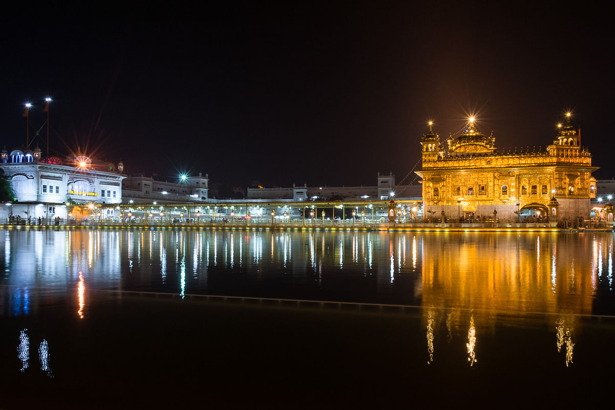 Amritsar's Golden Temple was right up there on the list for David and Katherine. (Photo Courtesy: David and Katherine)