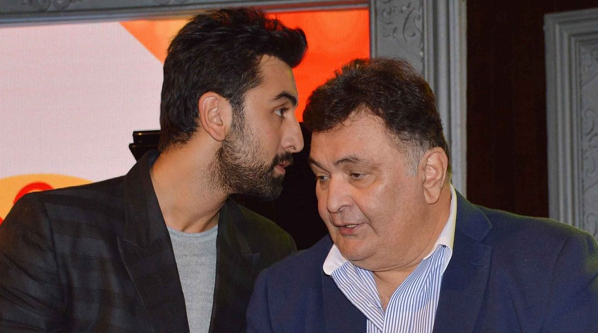 Rishi Kapoor says he does not scan through the scripts offered to Ranbir (Photo: Yogen Shah)
