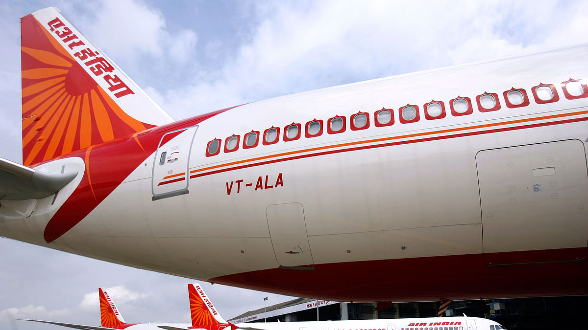An Air India plane parked at an airport. Photo used for representational purposes. (Photo: Reuters)