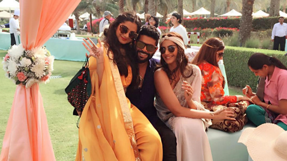 """Sonam Kapoor, photographed above, shared gorgeous photos of her friend's wedding in Muscat. (Photo Courtesy:<a href=""""https://www.instagram.com/sonamkapoor/""""> Instagram/Sonam Kapoor</a>)"""