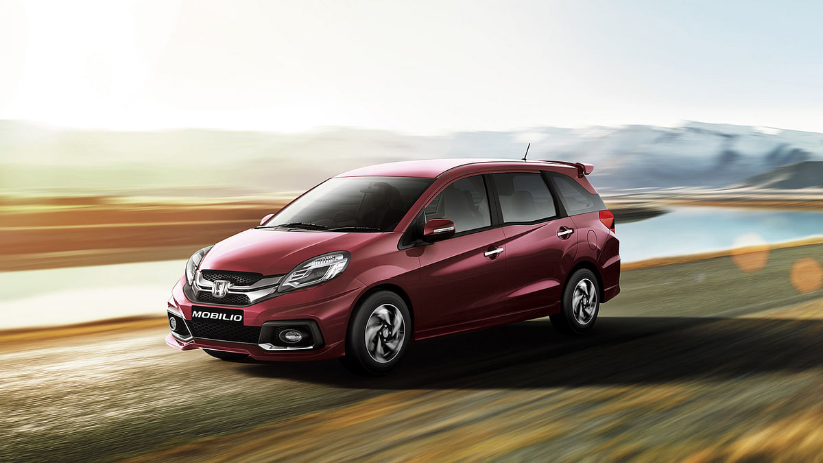 25,782 diesel variant units of Mobilio have been recalled by Honda. (Photo Courtesy: Honda India)