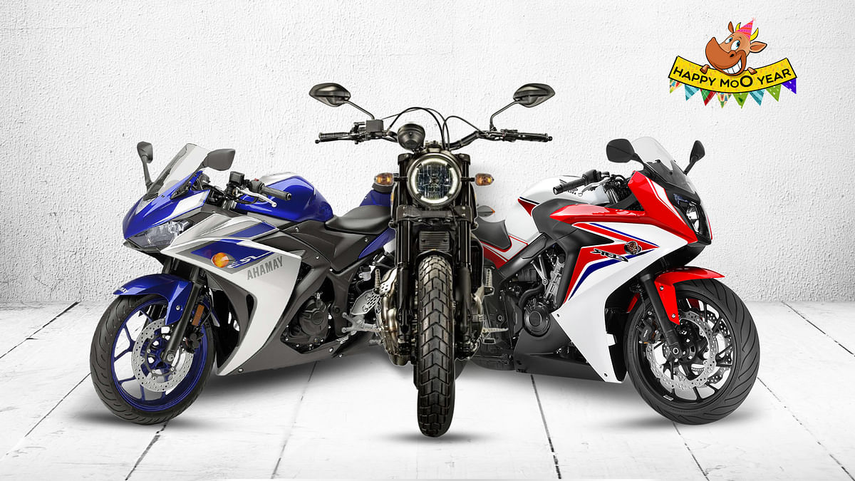 2015 saw a lot of new motorcycles, here are the top five of the year. (Photo: <b>The Quint</b>)