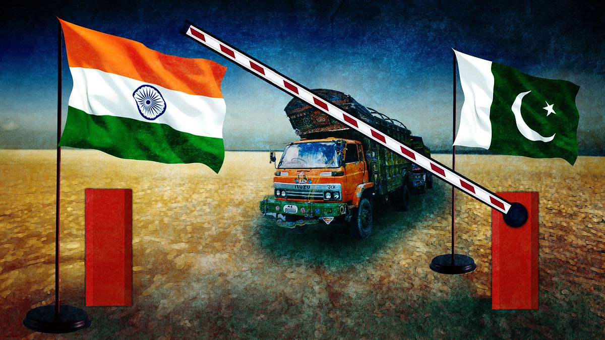 International commerce is the single most effective area that can successfully alter the bilateral foreign policy of India and Pakistan and enable them to move beyond their strained political linkages.(Photo: The Quint)