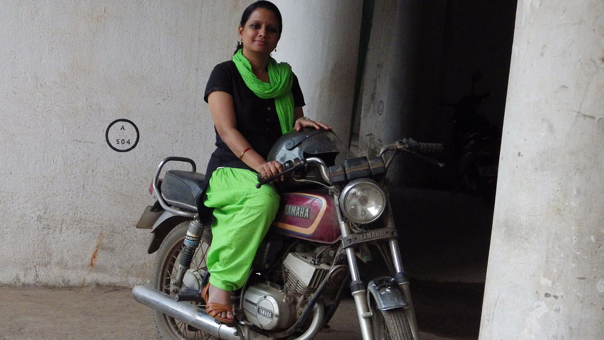 Sudatta Khuntia was denied a test drive for a bike she was interested in buying. (Sudatta Khuntia)