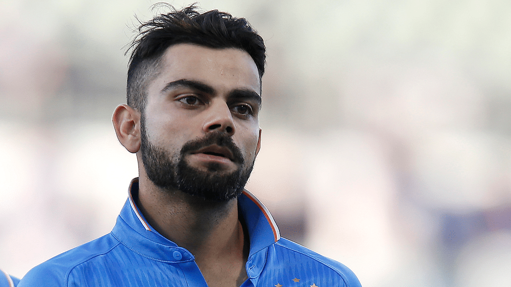 Virat Kohli is dejected after India lost to Australia by five wickets in the first ODI at Perth. (Photo: AP)
