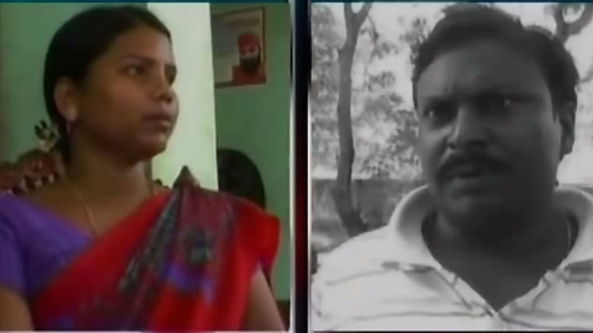 Awadesh Mandal (right), husband of JD(U) MLA Bima Bharti (left) escaped from prison. Speculations are rife that Bharti assisted in Mandal's escape.  (Photo: screengrab from YouTube)