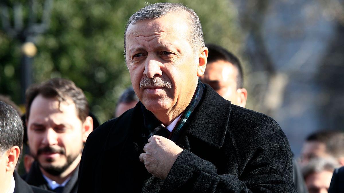 File photo: Turkey's President Recep Tayyip Erdogan (Photo: AP)