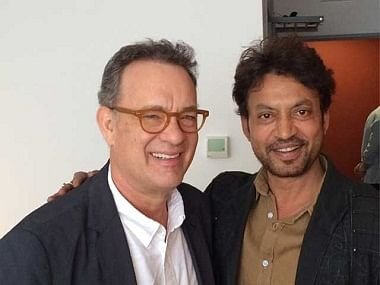 """Tom Hanks and Irrfan Khan will star in <i>Inferno</i> (Photo: Twitter/<a href=""""https://twitter.com/NewsStop360"""">@NewsStop360</a>)"""