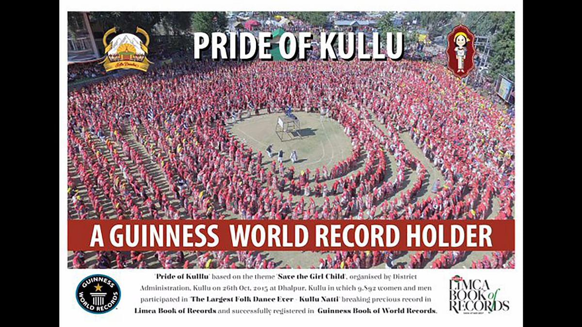 "Kullu Natti is the folk dance of Himachal. (Photo: <a href=""https://twitter.com/AGarg1990/status/686752057462665217"">Twitter</a>)"