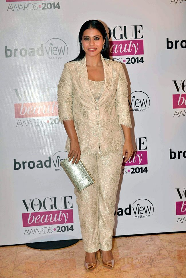 """Kajol's looks is bound to mesmerise (Photo: <a href=""""https://in.pinterest.com/pin/541839398891440866/"""">Pinterest/MohineetGill</a>)"""