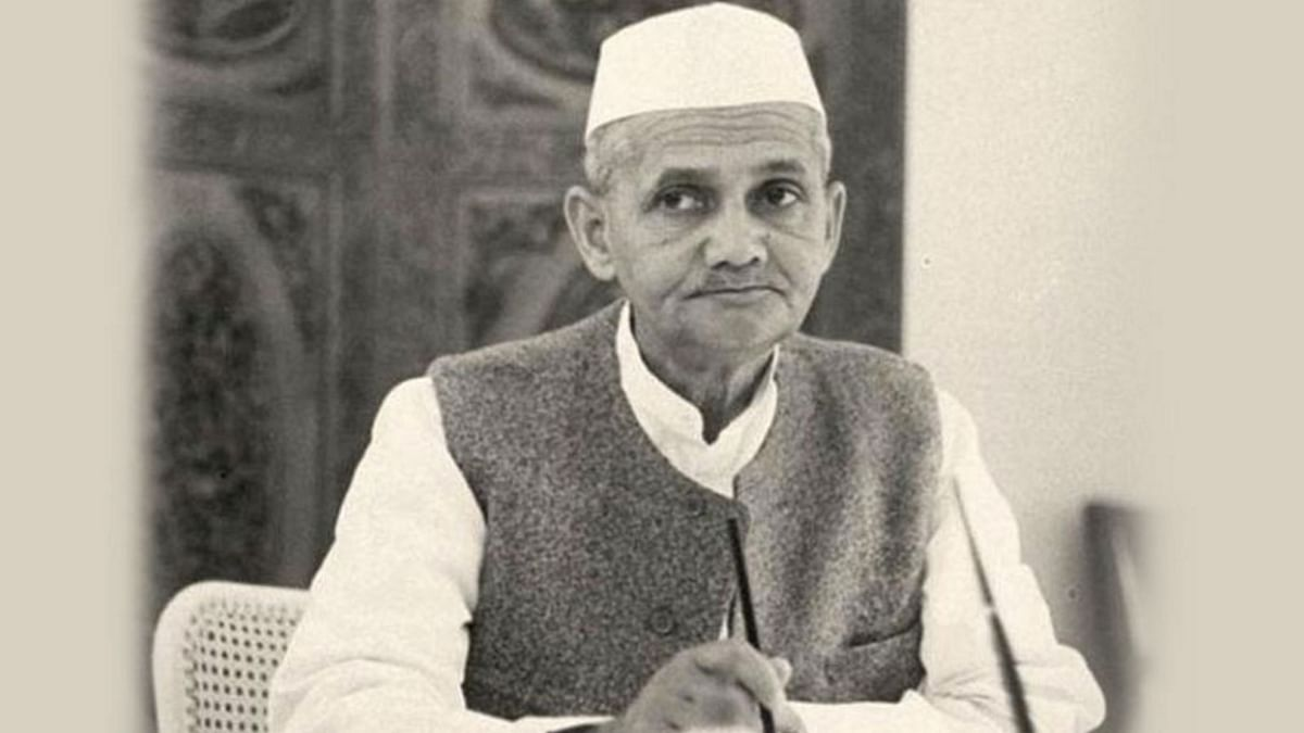 "File photo of Lal Bahadur Shastri, former Prime Minister of India. (Photo Courtesy: <a href=""http://pmindia.gov.in/wp-content/uploads/2015/10/lal-bahadur-shastri_2_oct_2015.jpg"">PMO India Website</a>)"