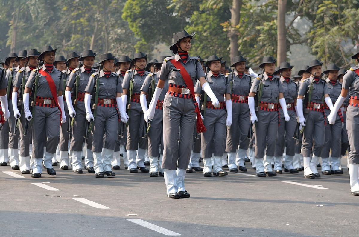 Representational image of women in Indian security forces. (Photo: iStockphoto)