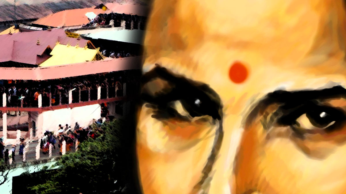 Supreme Court has questioned the ban on  women's entry into Sabarimala temple. (Photo: <b>The Quint</b>)