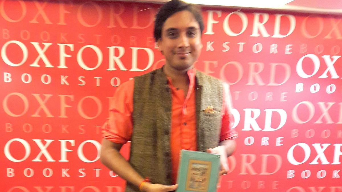 Kanishk Tharoor launches his debut collection of short stories, Swimmer among the stars in Kolkata