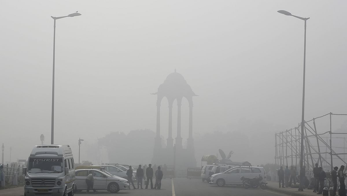 Delhi pollution levels spiked on Monday. (Photo: Reuters)
