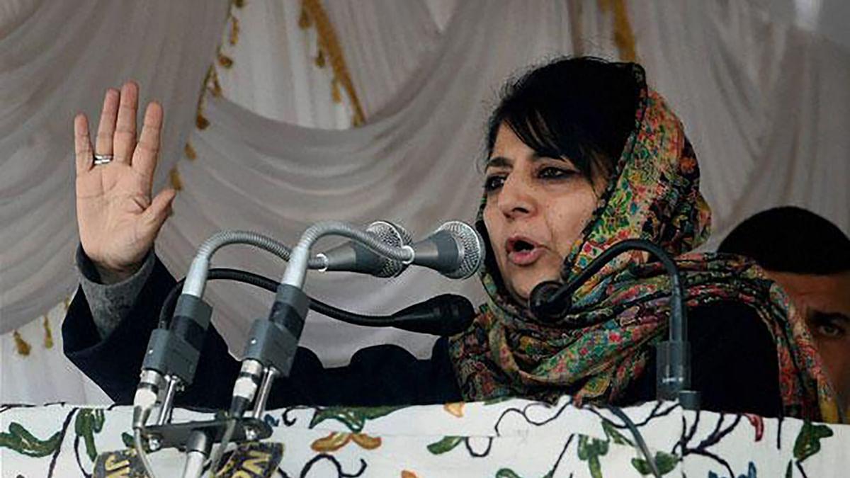 J&K Chief Minister Mehbooba Mufti. (Photo: PTI)