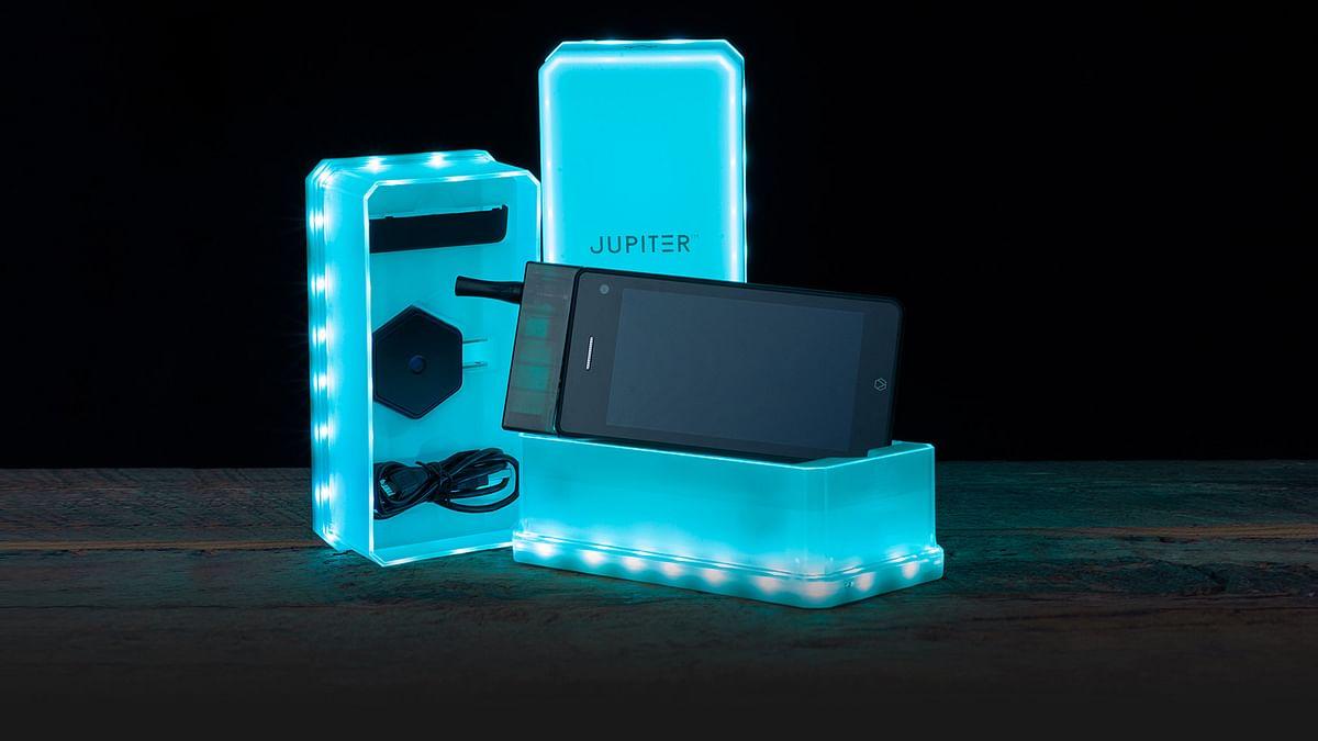 Jupiter IO 3 smartphone. (Photo: Vaporcade.com)