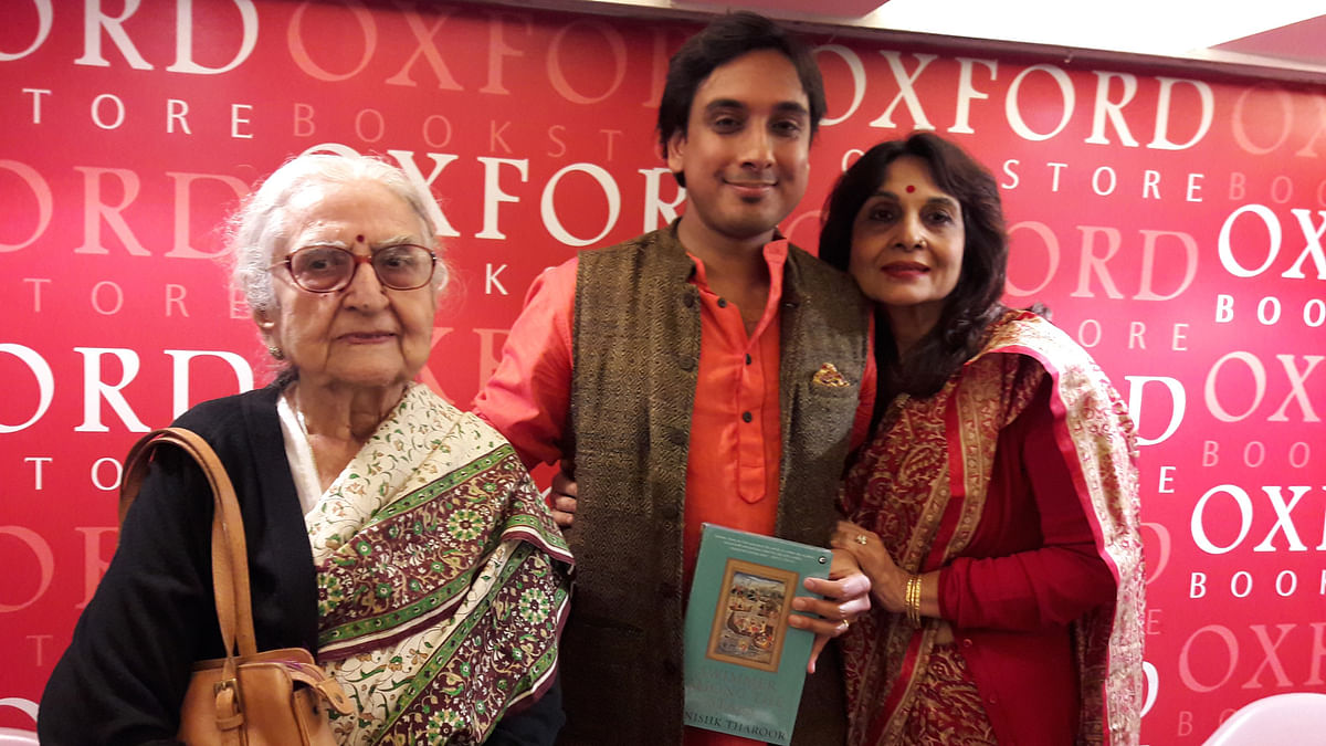 'Swimmer Among The Stars': Shashi Tharoor's Son Tells Stories Too