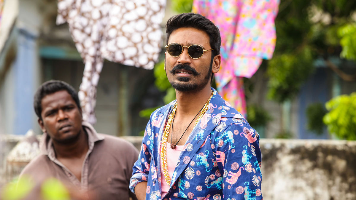Dhanush to feature in a Tamil political drama <i>Kodi</i>, which goes on floors today (Photo: Film still from <i>Maari</i>)