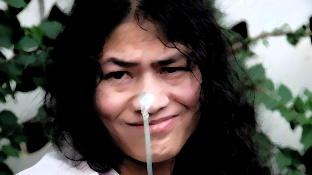 "Flesh, blood, sinew, muscle, Irom Sharmila is all of this, and more. (Photo: Facebook/<a href=""https://www.facebook.com/Iron-Lady-of-Manipur-Irom-Sharmila-Chanu-1457117077849765/photos_stream"">IromSharmila</a>)"