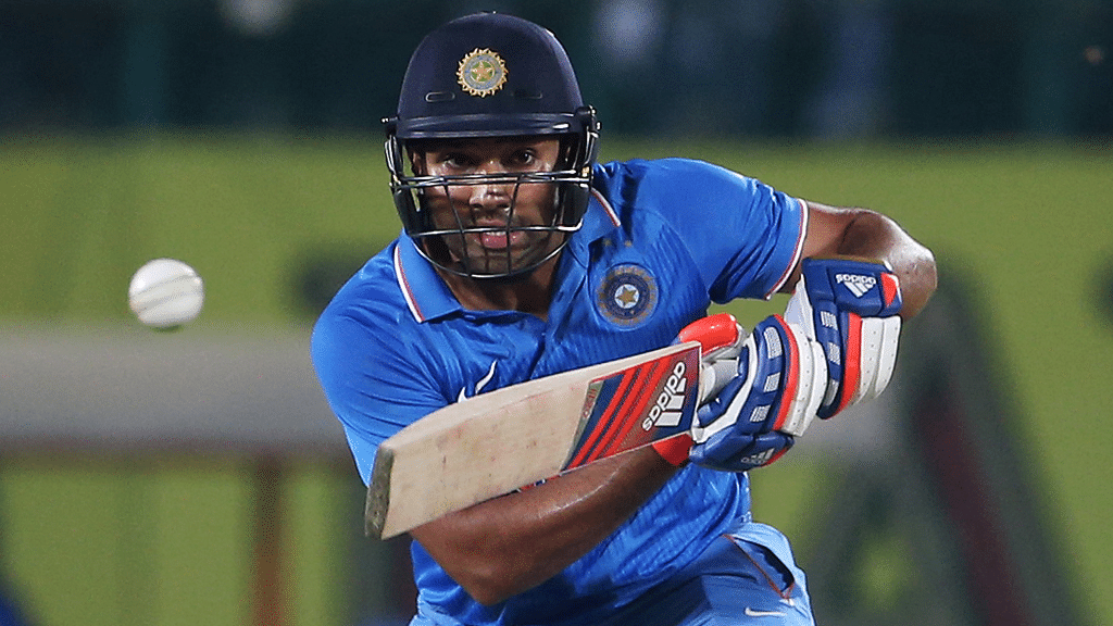 Rohit Sharma scored a big hundred after getting a start yet again. (Photo: Reuters)