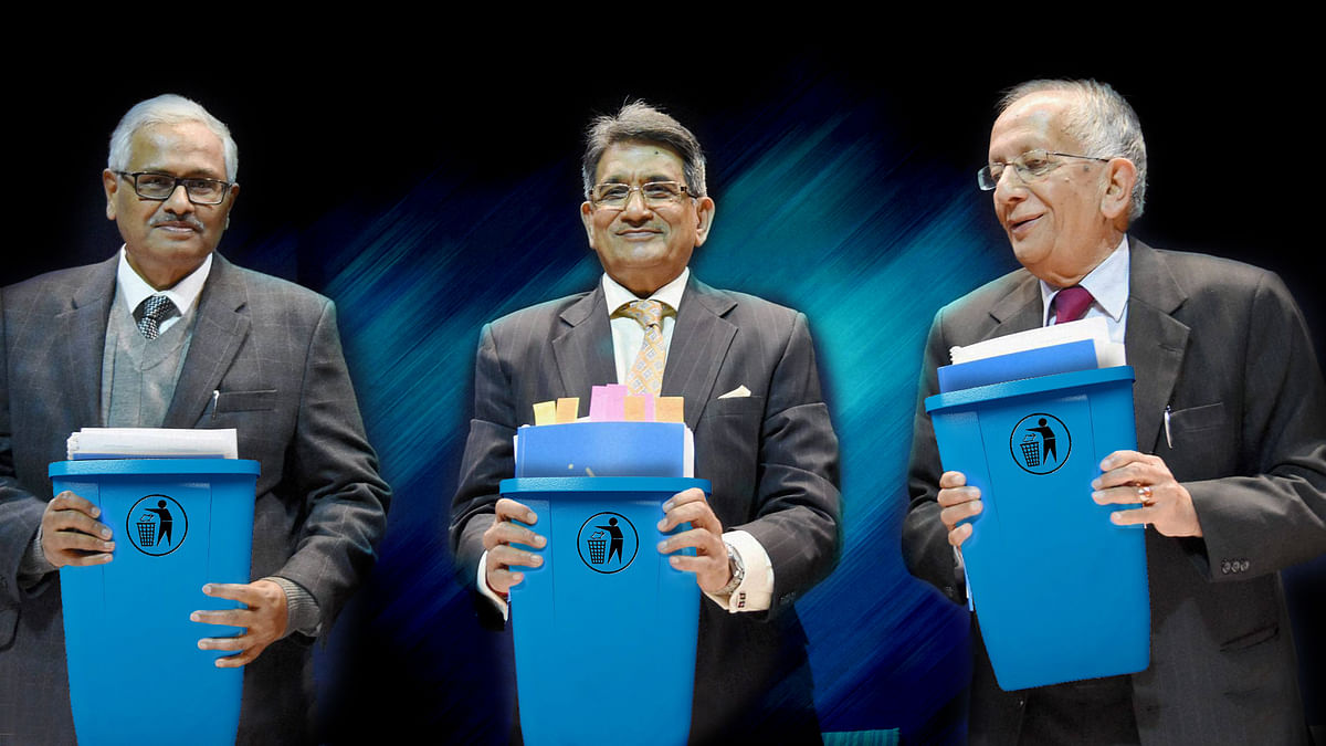 Will the recommendations from the Justice Lodha Committee just find their way into a bin or will the Supreme Court actually force the BCCI to implement the changes? (Photo: PTI)
