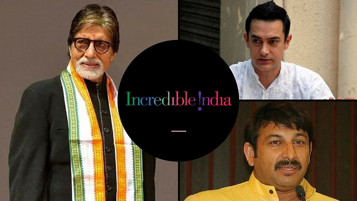 AB will now replace Khan as the brand ambassador of Incredible India. (Photo: <b>The Quint</b>)