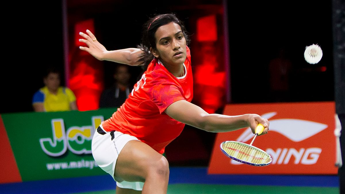 Indian shuttler PV Sindhu was knocked out in the opening round of the All England Open Badminton Championships.