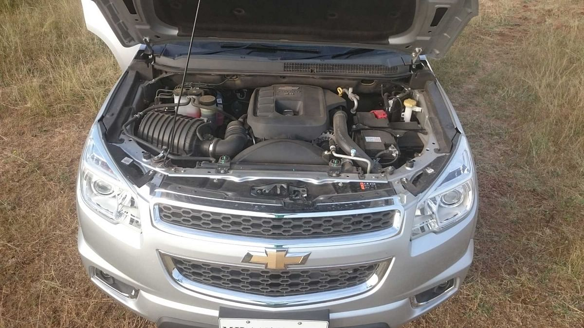 "Chevrolet Trailblazer 2.8 LTZ is powered by a 208 litre turbocharged diesel engine. (Photo: <a href=""https://www.motorscribes.com/"">MotorScribes</a>)"