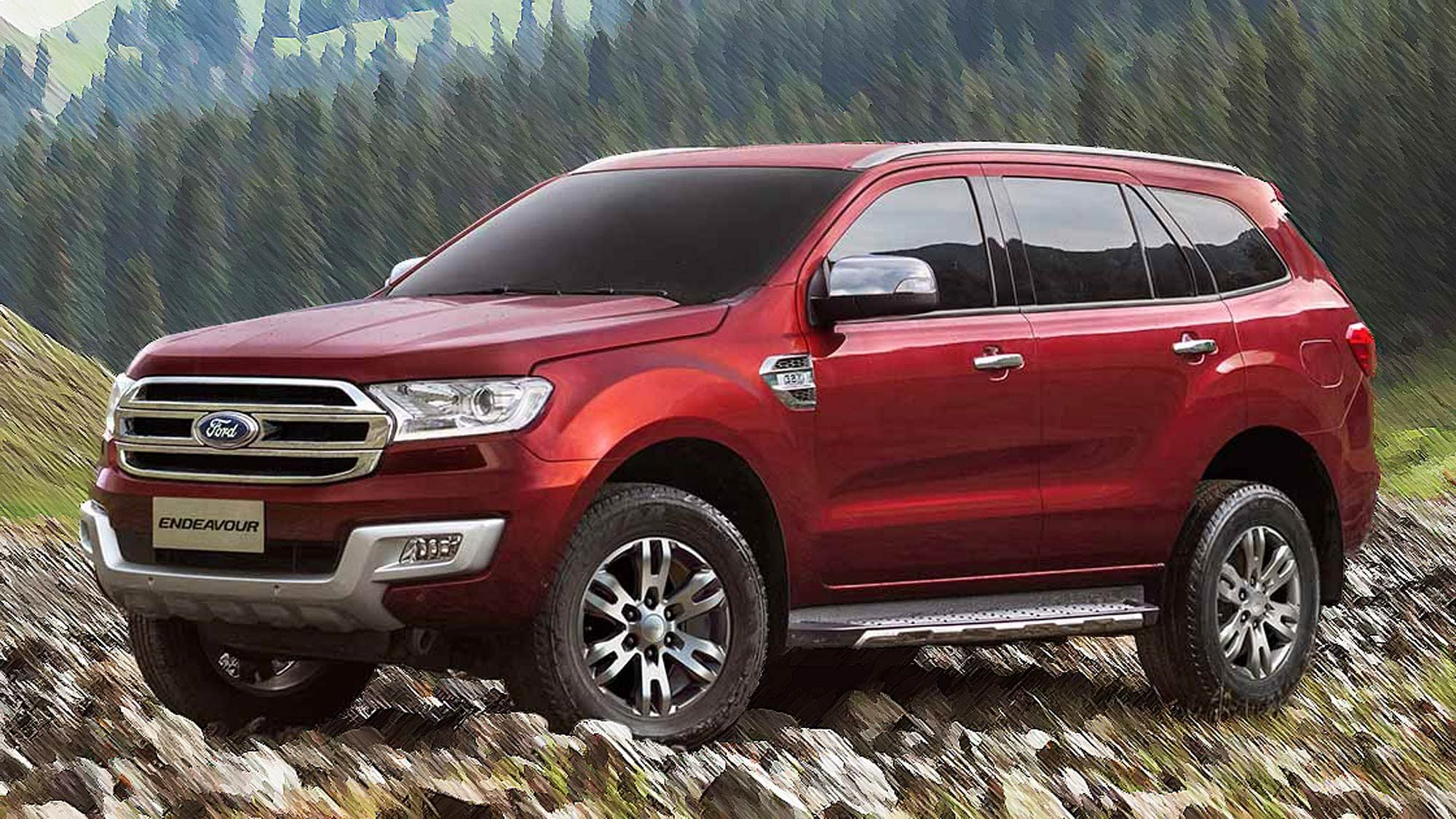 Here's All You Need to Know About the New Ford Endeavour