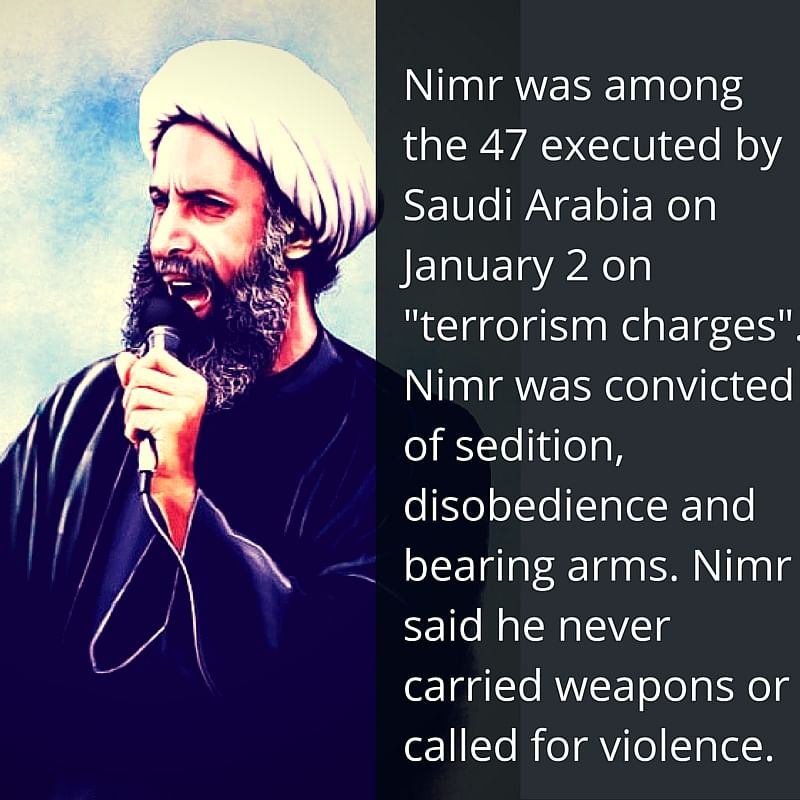 Why Saudi Arabia's Execution of Nimr al-Nimr Angered Indian Shias