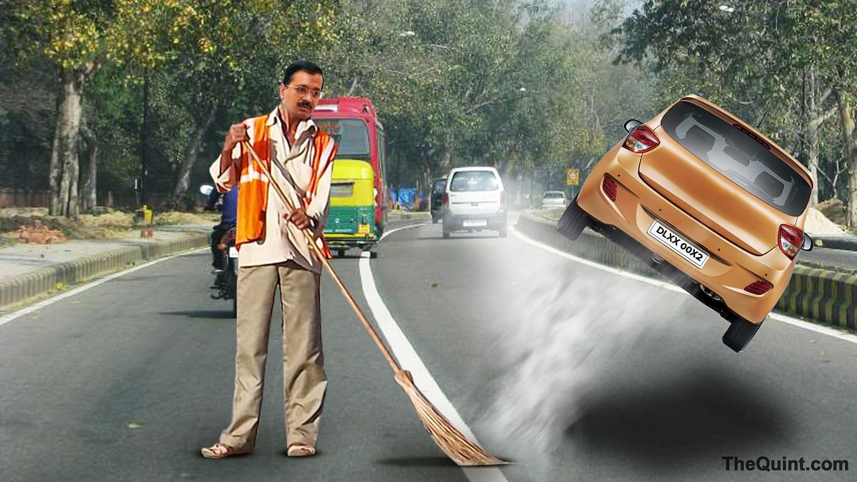 Arvind Kejriwal's odd-even plan seems to be success, at least so far. (Photo: Hardeep Singh/<b>The Quint</b>)