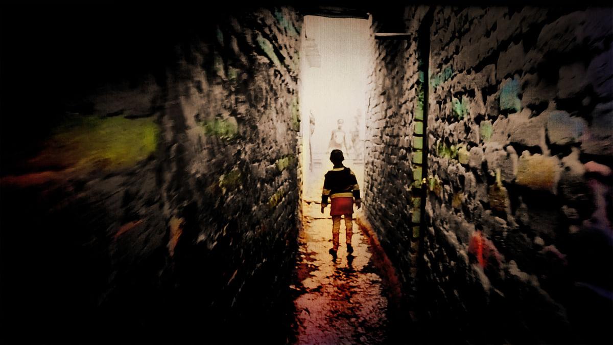 Choti Nirbhaya in her slum. (Photo: <b>The Quint</b>)