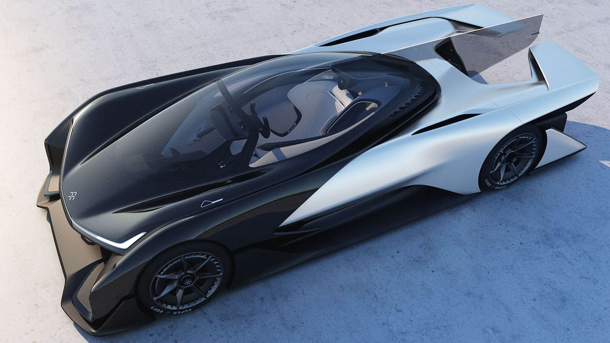 Faraday Future car. (Photo: Faraday Future)